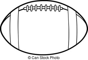 Football clipart shield Black Stock And White