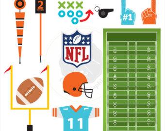 Football clipart american football Football clipart sports Clipart digital
