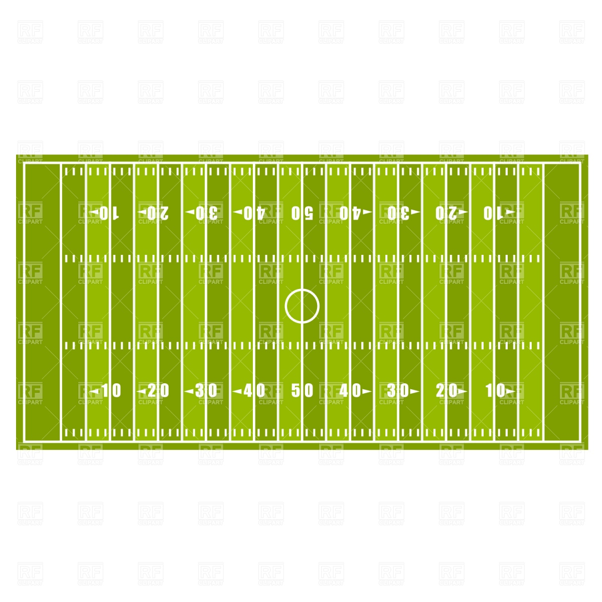 Football clipart american football Border collection football clipart clipart