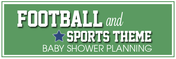 Football clipart baby shower  Theme Sports Planning Sports