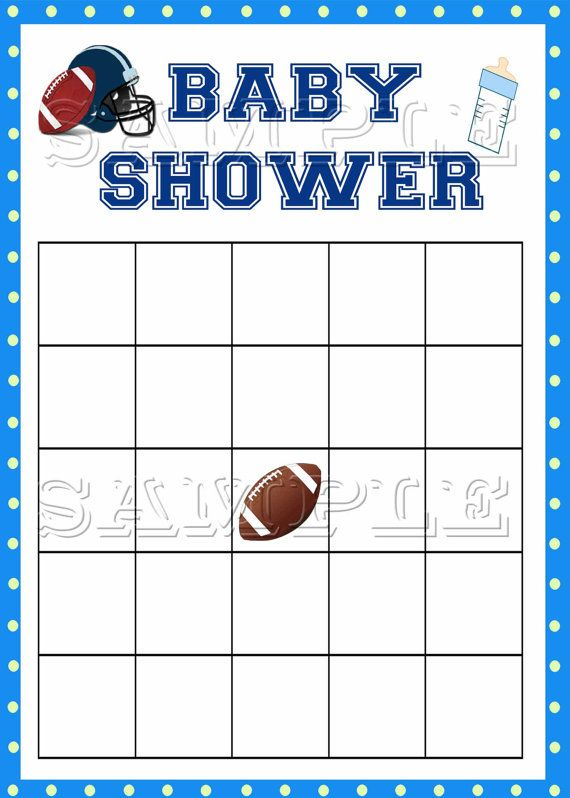 Football clipart baby shower Baby rugby shower Baby Football