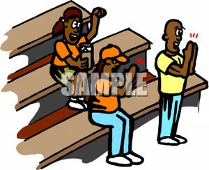 Crowd clipart bleachers Bleachers Clapping Clapping Clipart on