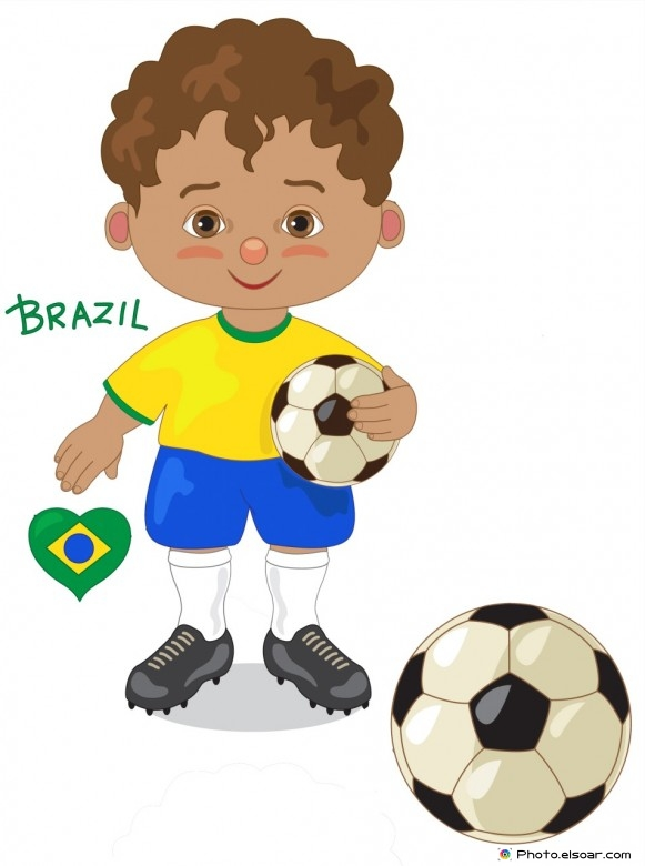 Soccer clipart graduation  Brazil kuvia liikunta Player