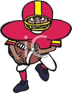 Football clipart cartoon #13