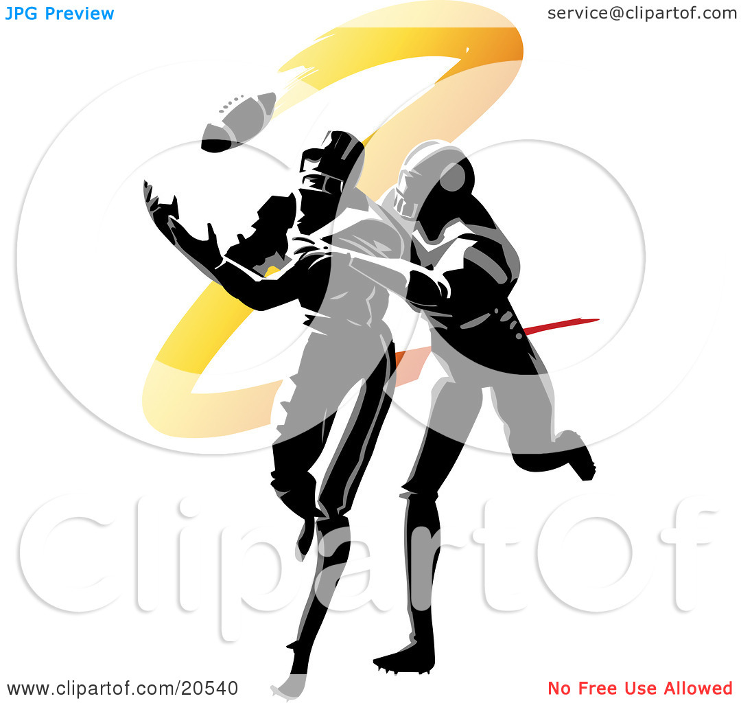 Football clipart catch Football football%20player%20tackling%20clipart Clipart Player Images