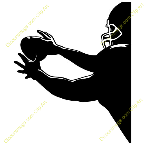 Football clipart catch A Catching Catching Football Clipart