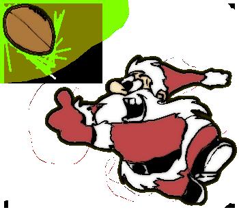Football clipart christmas (10+) Christmas art christmas clip