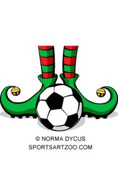 Football clipart christmas Free ball # vector #Christmas