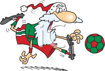 Football clipart christmas Sport art Clip Royalty Football