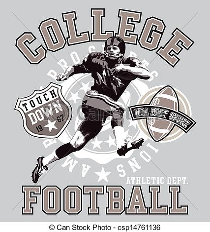 Football clipart college football #9