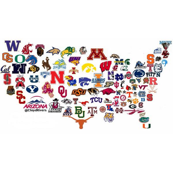 Football clipart college football #8