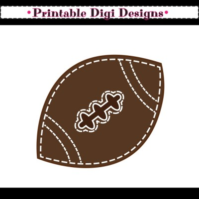 Football clipart cute Sports Cliparts Cute Clipart Zone