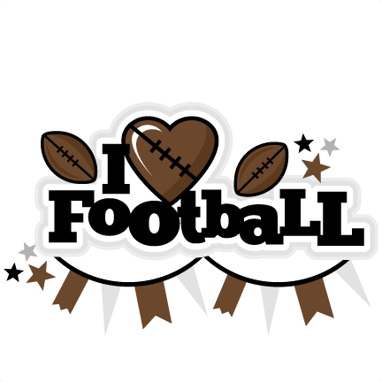 Football clipart cute Free cute I scrapbook cute