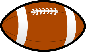 Football clipart cute Football com Football Cute clipartsgram