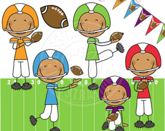 Football clipart cute Candy Clipart Use Digital Want
