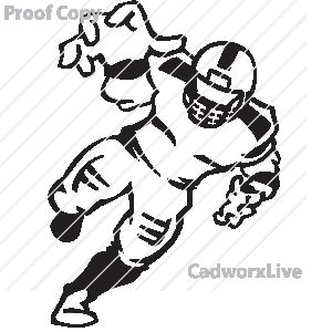 Football clipart defensive line Football Clipart Player Images Defense