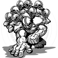Football clipart defensive line Clipart  Google Search lineman