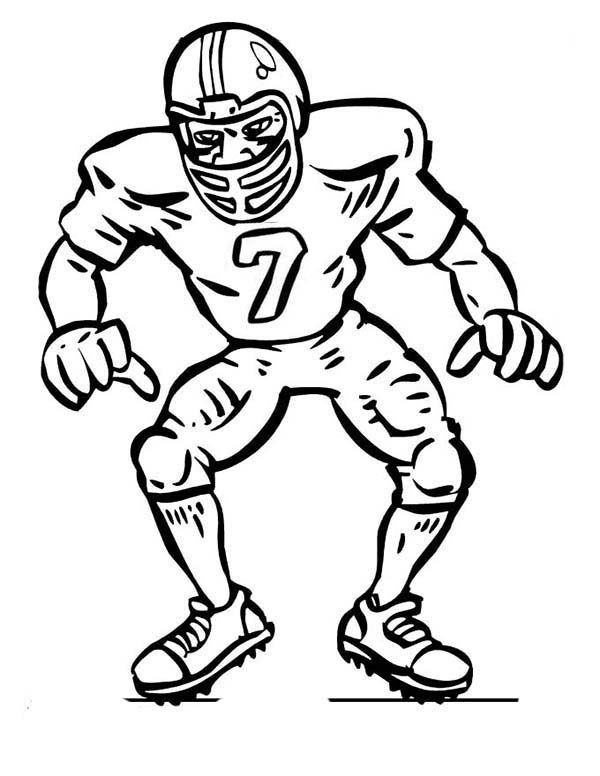 Football clipart defensive line Football clipartsgram Player com in