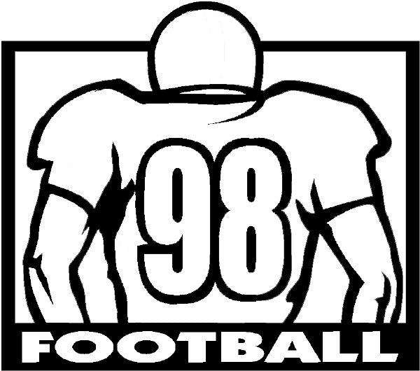 Football clipart defensive line Lineman to lineman Color images