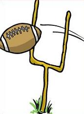Football clipart football goal post Free Football Panda Clipart Images