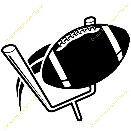Football clipart football goal post Football American Clipart online Post