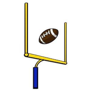 Football clipart football goal post Field clipart football goal goal