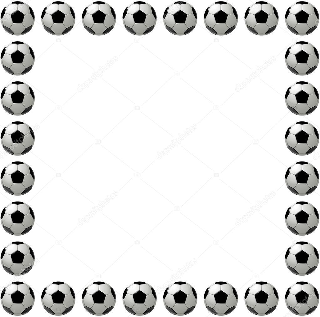 Football clipart frame Clipart clip Football sports art