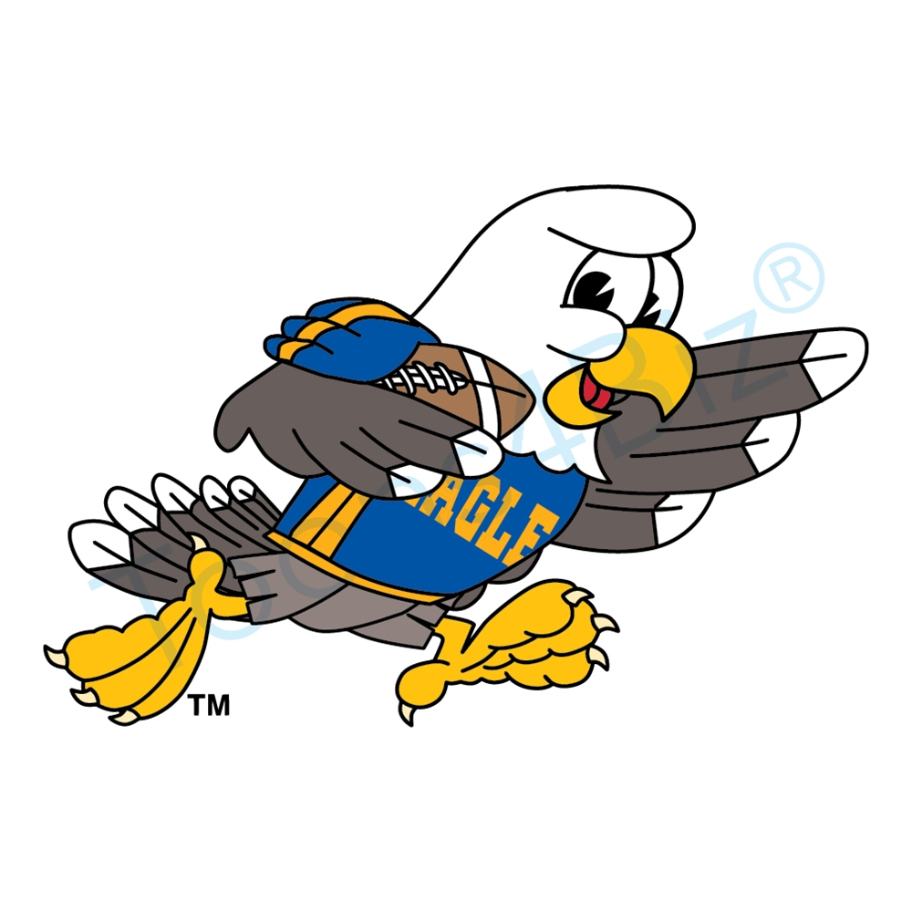 Football clipart hawk #15