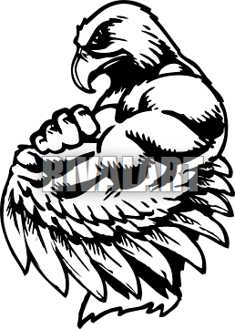 Football clipart hawk #7