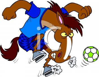 Animal clipart soccer Playing Soccer AnimalClipart Soccer Cartoon