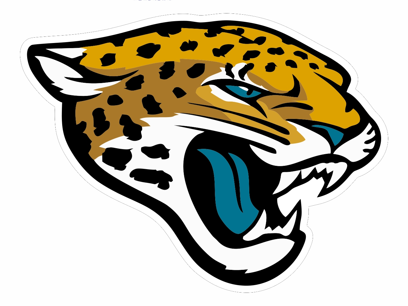 Football clipart jaguar Face and Others Art Football