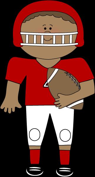 Football clipart kid football Carrying Football Football Art Kid