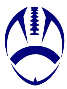 Football clipart navy blue #5