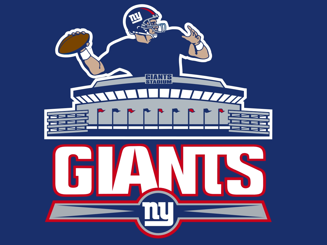 Football clipart ny giants York sports york Pinterest new