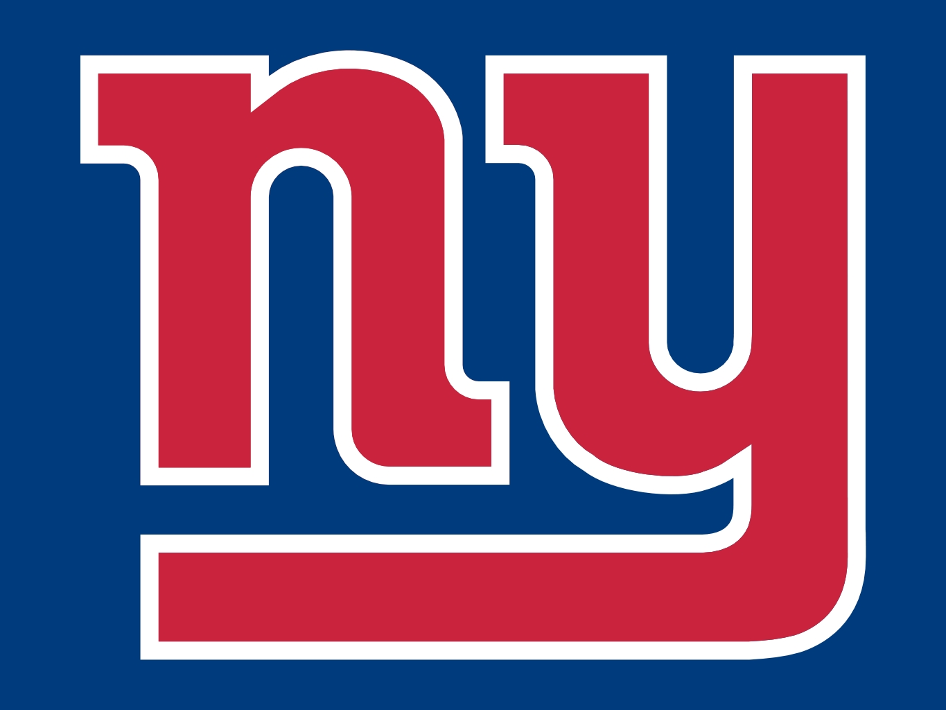 Football clipart ny giants Football logo clipart  Giants