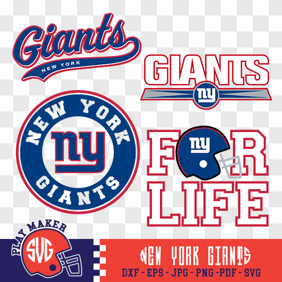Football clipart ny giants Giants  York Giants Giants