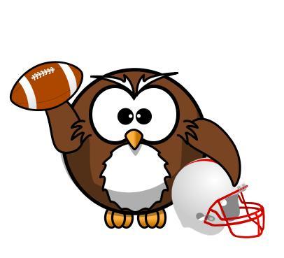 Football clipart owls Entries: 5 Owl SLUniverse Forums