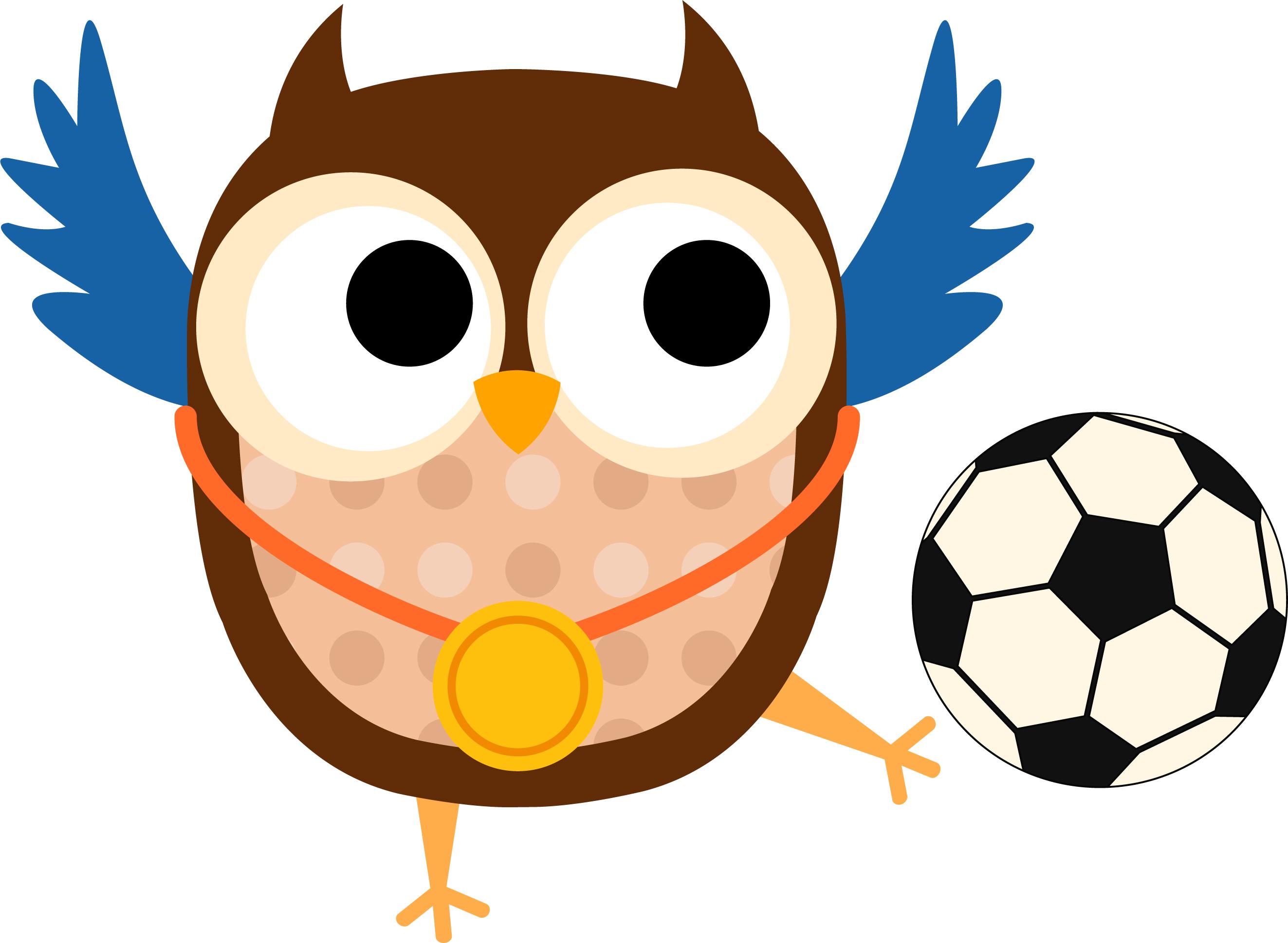 Football clipart owls Owl soccer Sullivan Elementary School
