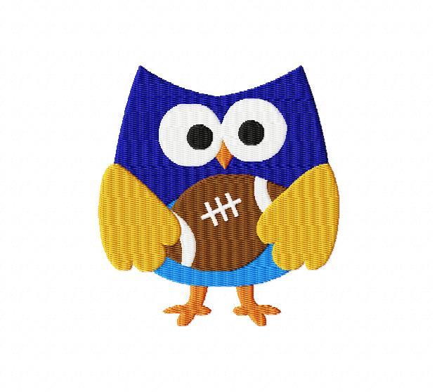 Football clipart owls 4X4: Owl Breezy 1 Hover