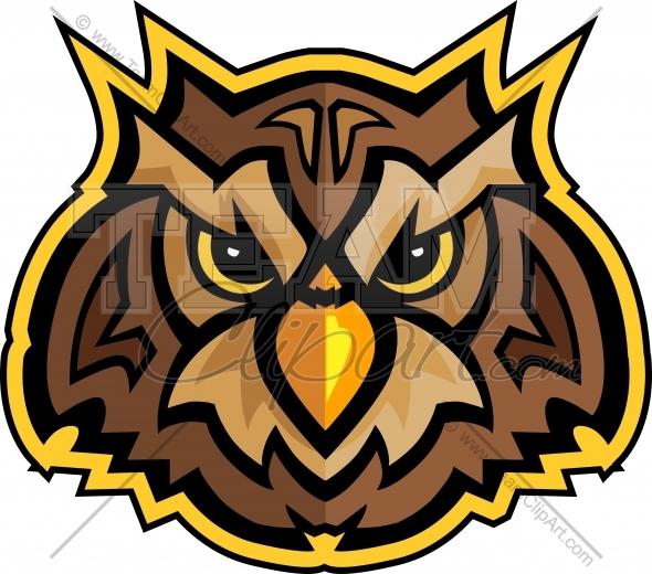 Football clipart owls Owl Mascot Owl Mascot Clipart