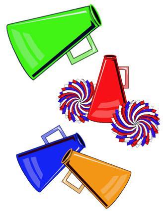 Club clipart megaphone Clipart Clipart Cheer%20Clip%20Art Art Football