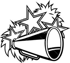 Football clipart pom pom Art Vector megaphone Bowl Free