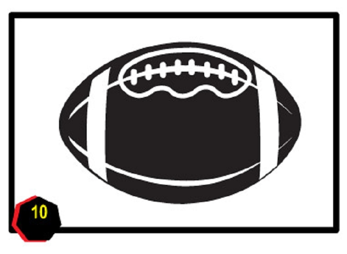 Football clipart printable Clipart Football football images page