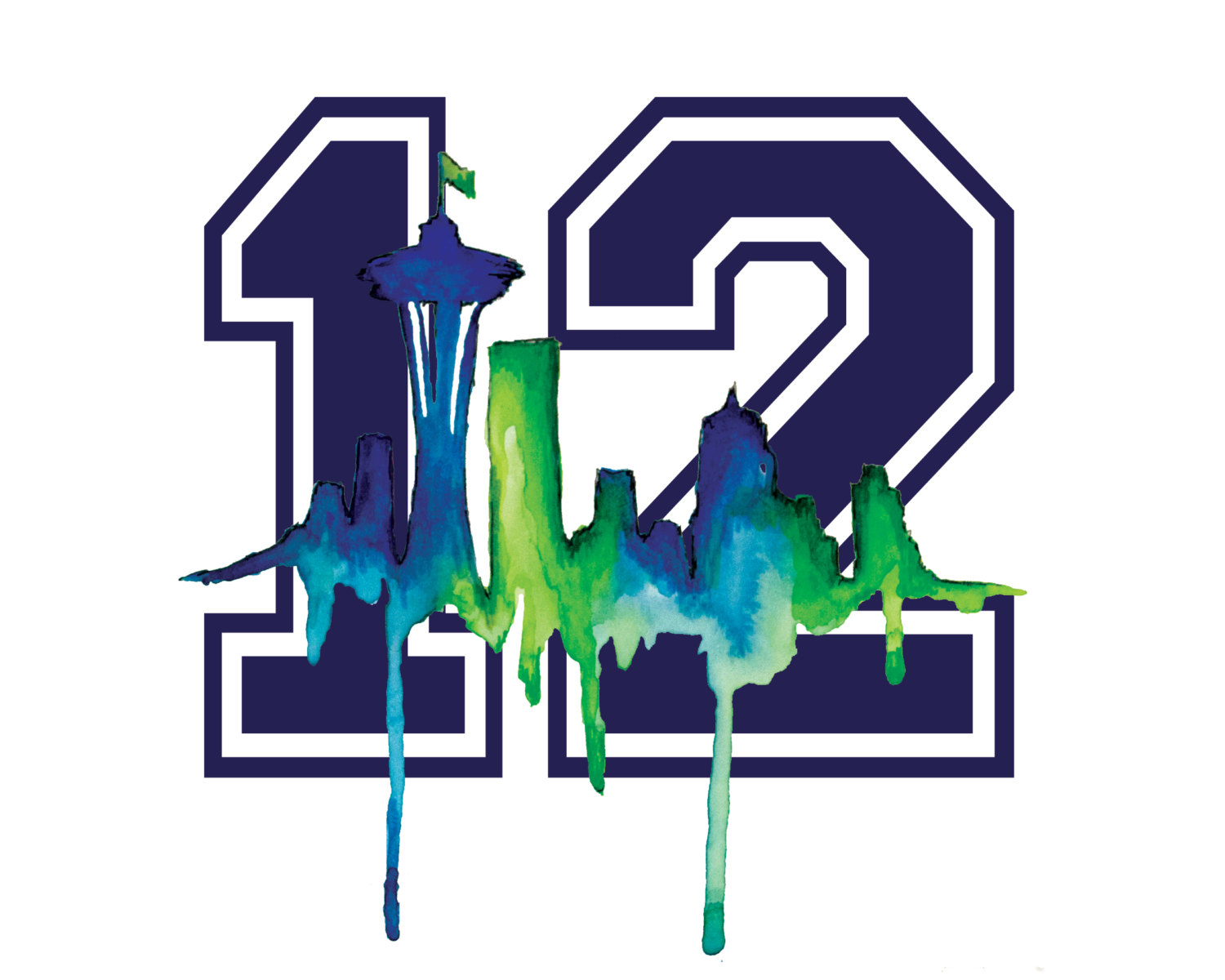 Football clipart seahawk Links 12th Party Pinterest