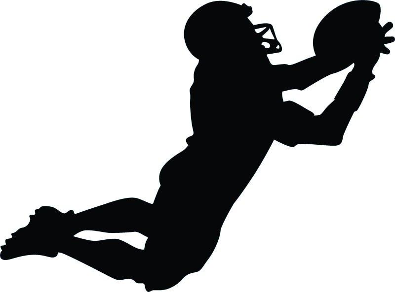Sport clipart silhouette Google football Files Google player