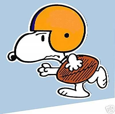 Football clipart snoopy Best Snoopy! Browns 81 images