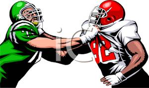Football clipart stance Images: Cartoon Lineman Stance Vvisitingmexico