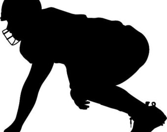 Football clipart stance Download Clip – on Art
