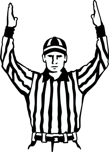 Football clipart stylized #11
