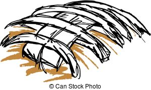 Football clipart stylized Laces drawn Laces  Football